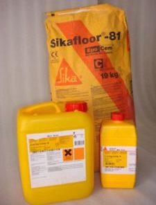 Vữa tự san ngăn ẩm Sikafloor 81 Epocem