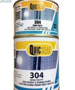Quicseal 304 Hệ Epoxy 2 thành phần trám vết nứt