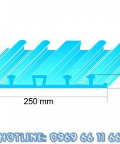 Băng cản nước PVC Waterstop KC 250
