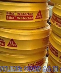 Sika Waterbar V15 - Băng cản nước chống thấm mạch ngừng