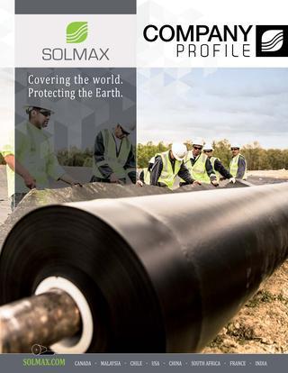 Nhà phân phối màng HDPE Solmax